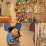 Drewniane ręcznie tworzone anioły i szopki bożonarodzeniowe doskonałe na prezent